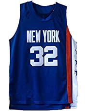 Ñêtš # 32 Dr. J Basketbal Jersey Ademend Mouwloos Sportvest, Unisex Basketbal Uniformen, Casual Comfortabele Sportkleding, Blauw Vintage Mesh Borduurwerk Jersey