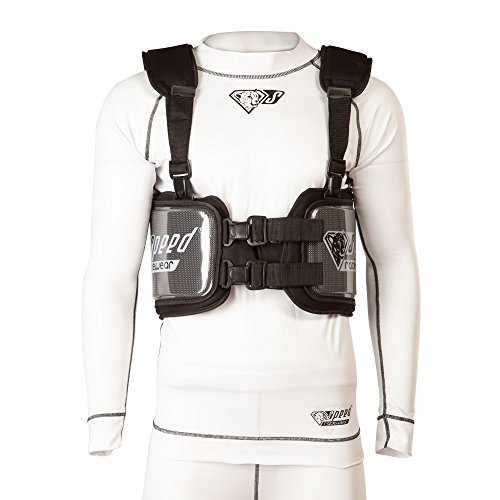 Protector de las costillas de Speed, color negro, Mujer Hombre, medium
