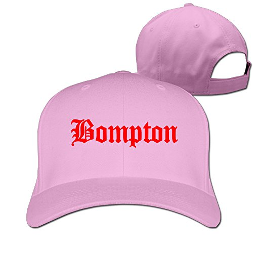 WHBDDYEH Cool Snapback Hat Bompton YG Keenon Daequan Unisex Cap Pink