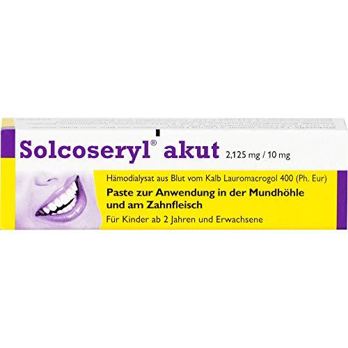 Solcoseryl akut Paste, 5 g Creme