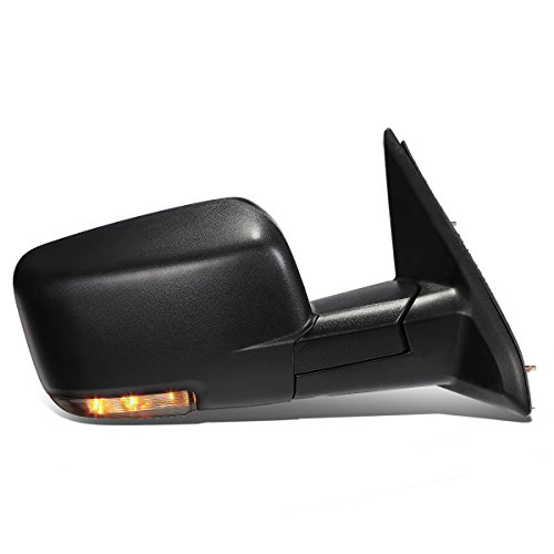 Right Passenger Side Power Heated Foldable LED Turn Signal Light Side Mirror Replacement for Dodge Ram 09-16