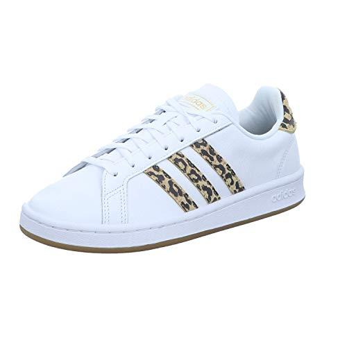 Adidas Grand Court Chaussures de tennis pour femme, Femme, Laufschuh, blanc, 36 2/3 EU