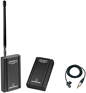 Audio-Technica PRO 88W Wireless Omnidirectional Clip-on Microphone System (W88-13-830)