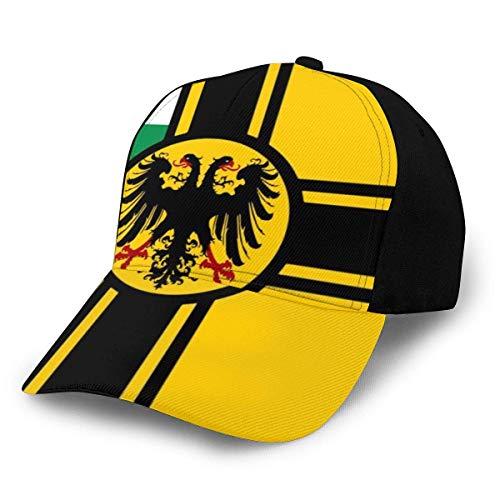Preußen Flagge Österreich Ungarn Klassische Baseball Cap Herren Damen Papa Mütze Twill Verstellbare Größe Schwarz
