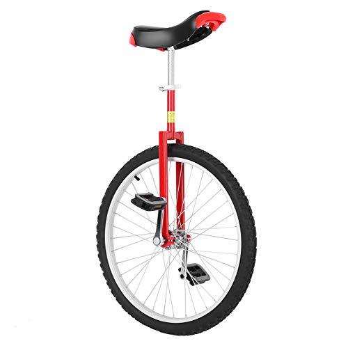 """Paneltech 16\""""/ 20\"""" Erwachsenentrainer Einrad höhenverstellbar Skidproof Butyl Mountain Reifen Balance Radfahren Heimtrainer Fahrrad (20\"""")"""