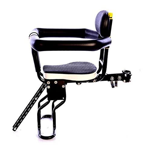 Asiento de bicicleta para niños, Montaje frontal de asientos para niños, asiento para bicicletas infantiles con barandilla, portabicicleta para bicicletas de montaña, bicicleta para damas, bicicletas