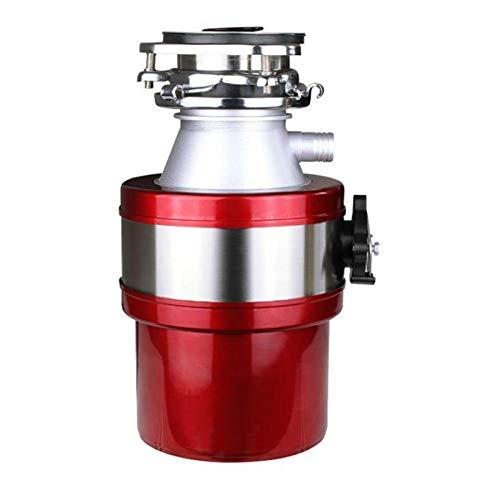 Smaltimento dissipatore per rifiuti da cucina, lavello silenzioso completamente automatico per domestico, componenti per macinazione in acciaio inossidabile per alimentari con interruttore ad aria