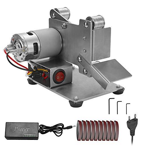 KKmoon Amoladora Multifuncional mini Lijadora de Correa Eléctrica Bricolaje Pulido Máquina, de...