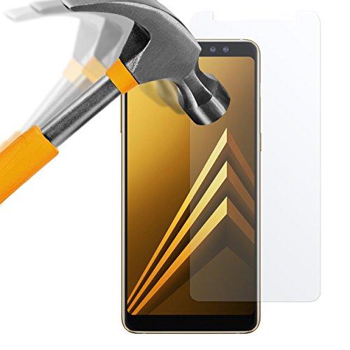 moodie Panzerglas Folie für Samsung Galaxy A8 2018 - Premium Glasfolie 9H Panzerglasfolie für Samsung A8 2018