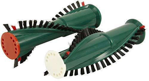 Ersatz-Bürsten geeignet für Vorwerk ET-340 Elektrobürste, zur Verwendung der Rundbürsten in den Staubsauger EB-350 / EB-351, 1 Paar
