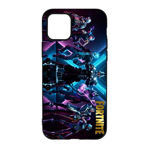 Fortnite iPhone11 Case Special Protective Shell Shockproof Drop-Proof Scratch-Proof Fashion Mobile Phone Case for iPhone 11 /Pro/Pro Max/XR(A,iPhone 11)