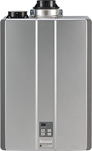 Rinnai RUC80iN Ultra Series Natural Gas Tankless Water Heater, Concentric or Twin Pipe Installation
