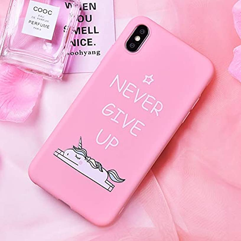 Fitted Cases - Unicorn Animal Phone Case for iPhone 7 8 Cases for iPhone X Xs Max Back Cover Silicone Coque Case for iPhone 6 S 6s 7 - for iPhone 6 6S_02 - Pad Cell Sticky Toy Memo Ark Small