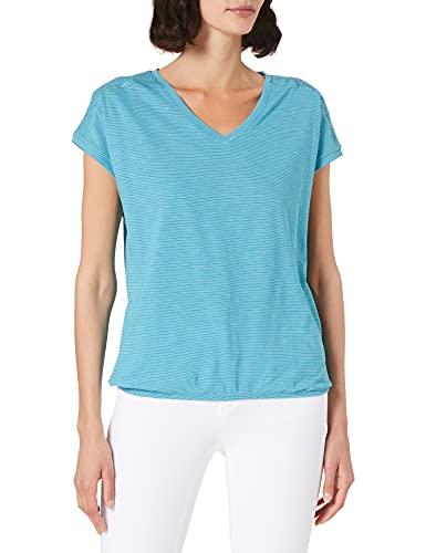 Cecil Damen 316206 T-Shirt, cool Lagoon Blue, XS