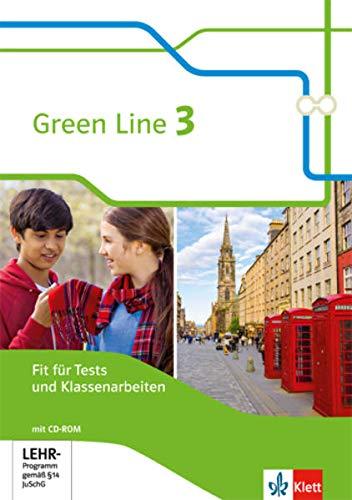 Green Line 3: Fit für Tests und Klassenarbeiten mit Lösungsheft und Mediensammlung Klasse 7 (Green Line. Bundesausgabe ab 2014)