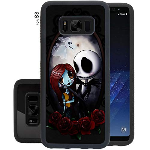 Cell Phone Case Fits for Samsung Galaxy S8 (5.8 Inch) Nightmare Before Christmas Jack Skellington