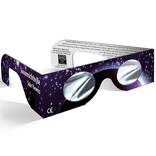 Gafas de Sol con Baader Planetario de Plata película Baader Astro Solar (Color