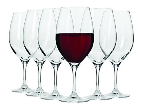 Maxwell & Williams 480 ml Vino Shiraz vetro, Set di 6