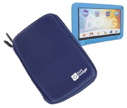 DURAGADGET Funda Azul Rígida con Cremallera para Famosa Tablet Boing