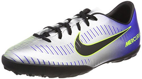 Nike Mercurialx Victory Vi Neymar TF, Zapatillas de Deporte Unisex Adulto, Multicolor (Racer Blue/Black-Chr 407), 38 EU
