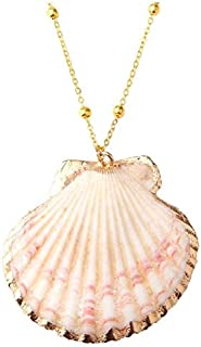 Shell Necklace Sea Beach Shell Pendant Boho Conch Necklace For Women Jewelry Bohemian