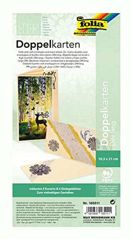 Efco A6 Folded Card 10,5 x 21 cm, 220 g/m 5 pcs. Straw Yellow, Paper 41 x 51 x 3.8 cm