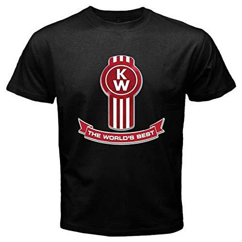 FB New Kenworth Trucks Logo Men's Black T-Shirt Size S M L XL 2XL 3XL