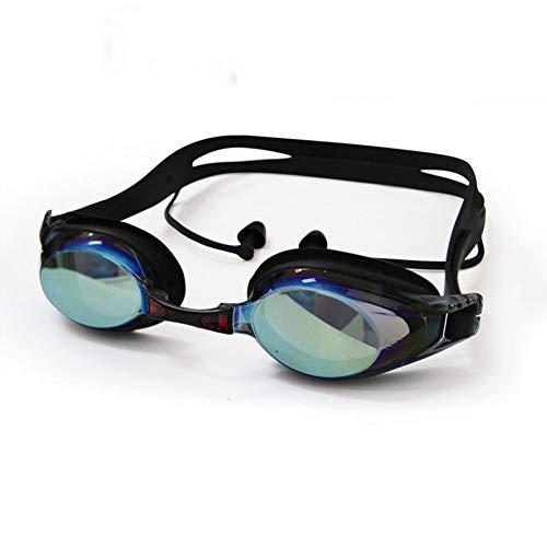 JBP Max zwembril voor mannen en vrouwen volwassenen kinderen waterdichte anti-condens HD zwembril