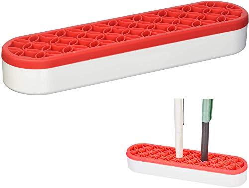 ANVICOメイクブラシホルダー シリコンケース New Trend 多目的シリコンオーガナイザー 化粧品収納 小物入れ ペン立てメイクアップオーガナイザー ブラシホルダー、ペンホルダー 分格?? 口紅ホルダー、 多機能収納 デスクオーガナイザー デスク