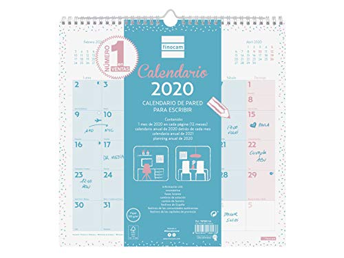 Finocam 787005820, Calendario, 1, Multicolor