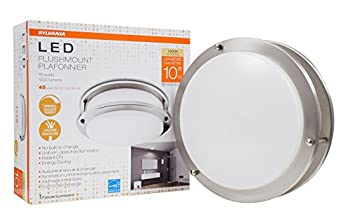 SYLVANIA 10 inch ceiling mount LED dimmable 2700k 15watts luminaire - 71403