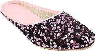 Galaxy Foot Craft Women KHILONA Belly Sitara-Pink (SN15)
