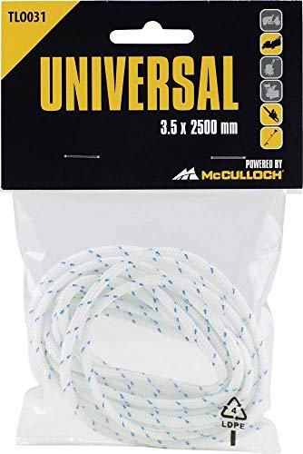 Universal Starterseil, TLO031: Starterseil passend für Rasenmäher, Trimmer, Kettensägen und Laubsauger (Artikel-Nr. 00057-76.168.31)