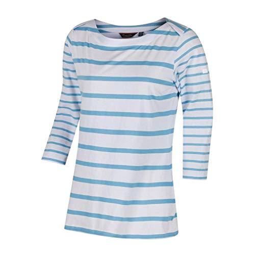 Regatta pour Femme Parris t-Shirts/Polos/Gilet L White/Hydrng