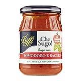biffi - sugo pomodoro e basilico con pomodoro ciliegino (napoletana) 190g - multipack (3x190g)