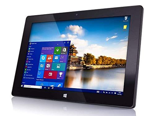 "10"" Windows 10 Fusion5 FWIN232 Plus S1 Ultra Slim Windows Tablet PC - (4GB RAM, USB 3.0, Micro HDMI, Intel Quad-Core CPU, IPS HD Display, 5MP and 2MP Cameras, Bluetooth 4.0, Windows 10 S) (64GB)"