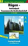 Rügen, Nationalpark Vorpommersche Boddenlandschaft. Wanderkarte. 1 : 75 000