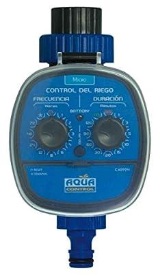 Control Manual y Seguridad Infantil con 1 Adaptador de Grifo Temporizador de Riego Jard/ín con riego programado 1 Conector r/ápido y 2 Anillos de Goma Gris Homitt Temporizador de Riego Autom/ático