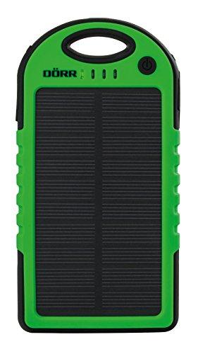 DÖRR Solar Powerbank SC-5000 schwarz/grün