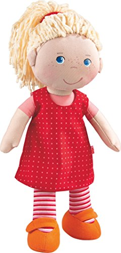 HABA Annelie 12' Soft Doll with Blonde Hair and Blue Eyes