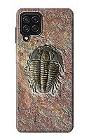 JP1454A24 三葉虫の化石 Trilobite Fossil For Samsung Galaxy A22 4G 用ケース