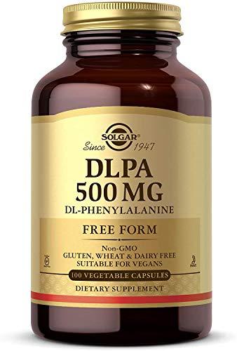 Solgar – DLPA 500 mg, 100 Vegetable Capsules