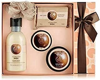 The body shop shea essential selection Shea Shower Cream, Shea Exfoliating Sugar, Body Scrub, Body Butter, Shea Soap, bath...
