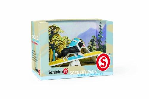 Schleich 41803 - Figura/ miniatura Paisaje catálogo de módulos de la agilidad del perro