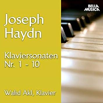 Haydn: Klaviersonaten No. 1 - 10