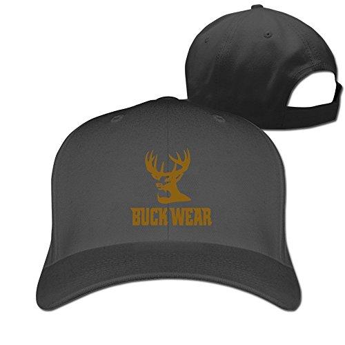 Feruch Buck Wear Food PoopsHat Baseball Caps Black