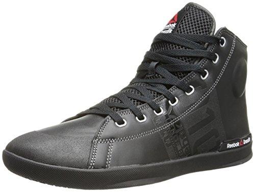 Reebok Men's RCF lite tr-m, Black/Flat Grey, 7.5 M US