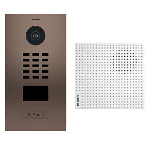 Doorbird D2101BV + A1061W video-deurintercom IP RFID-lezer + deurbel