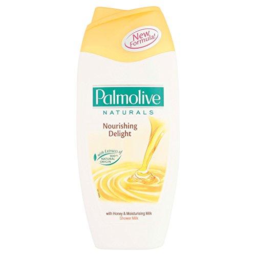 12 x Palmolive Naturals voedende Delight Douche Melk met honing & hydraterende melk 250ml