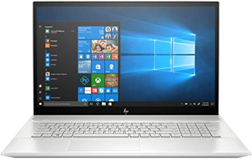 CUK Envy 17t by HP 17 Inch Business Notebook (Intel Core i7, 16GB RAM, 512GB NVMe + 32GB Optane, NVIDIA GeForce MX450 2GB, 17.3' FHD Touch, Wi-Fi, Windows 10 Pro) Professional Student Laptop Computer